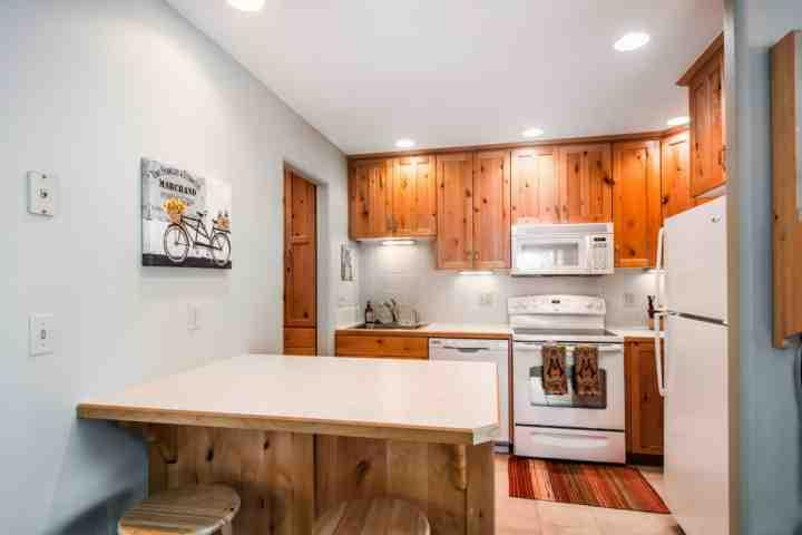 As with much of the home, the kitchen too has been updated to better suit your needs and expectations during your Park City vacation.