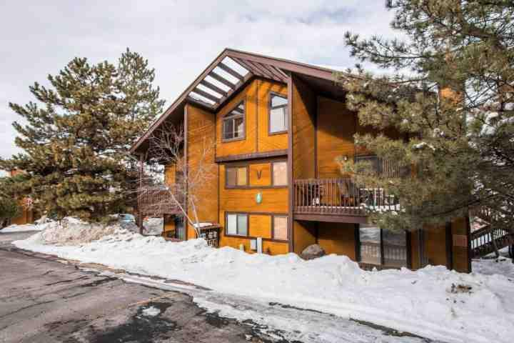 Red Pine Condominiums are located just 200 yards from the base of Canyons at Park City.