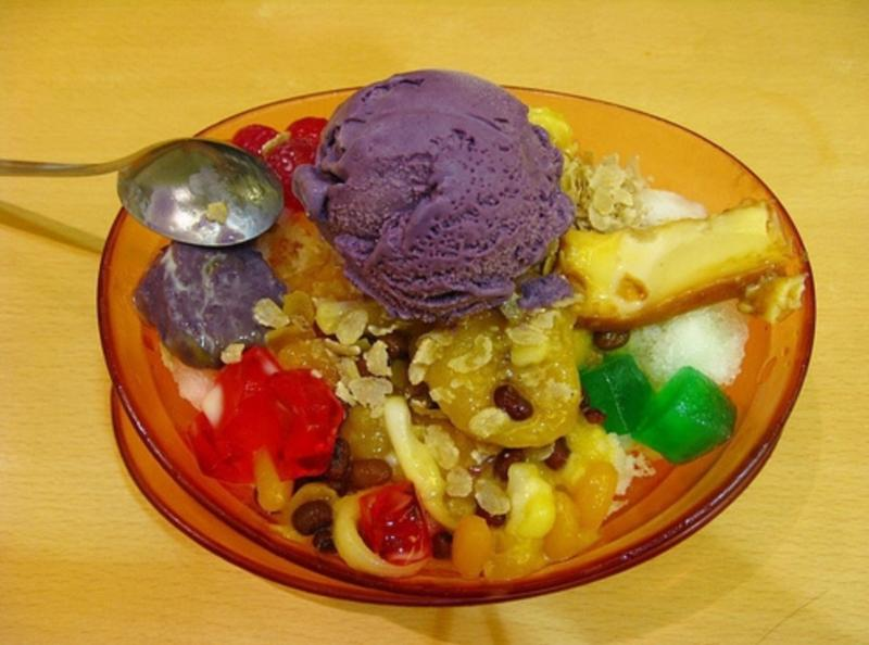 Halo halo we call it... try on a warm sunny day!