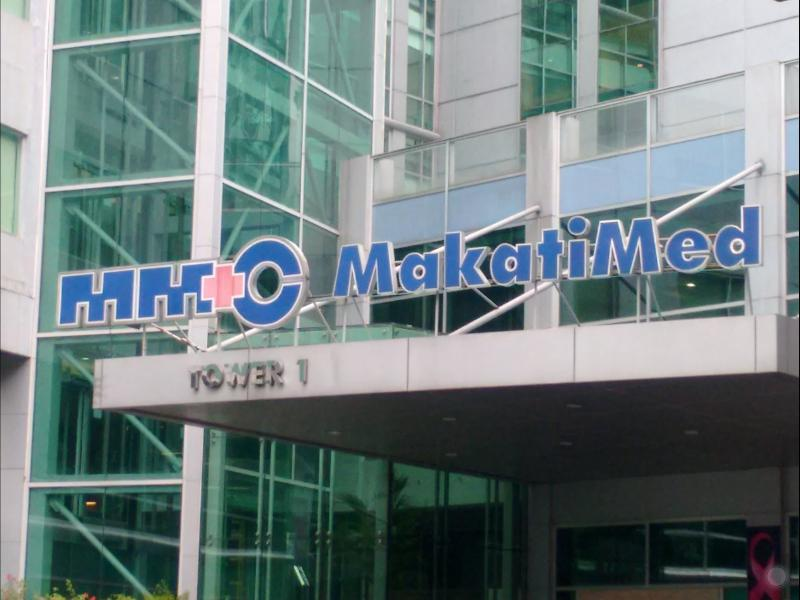 Makati Medical Center is just a few minutes  drive away