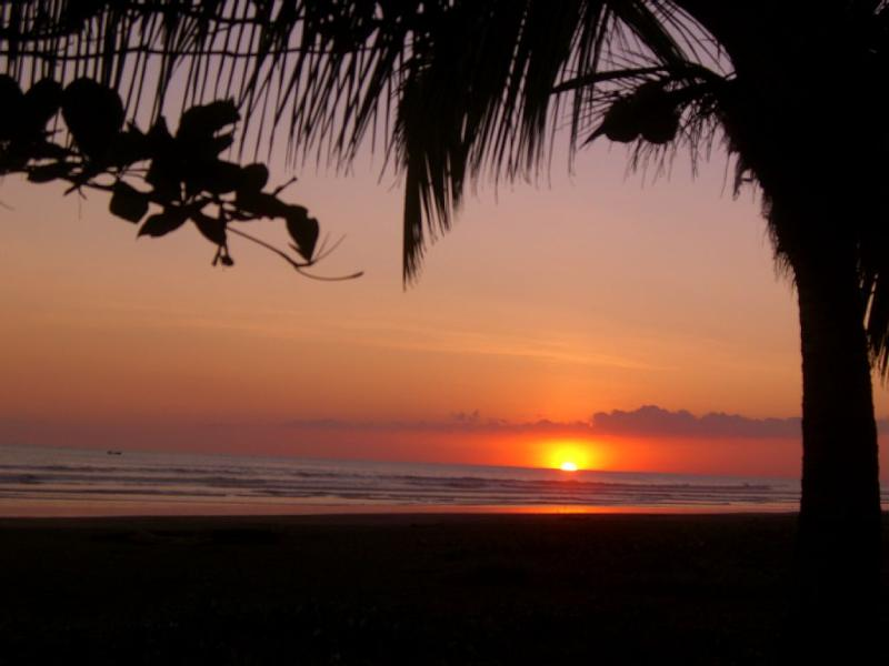 Enjoy magical sunsets on our pristine secluded, uncrowded beach