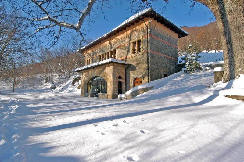 Ski slopes are just 30 min. drive from Villa Morelli