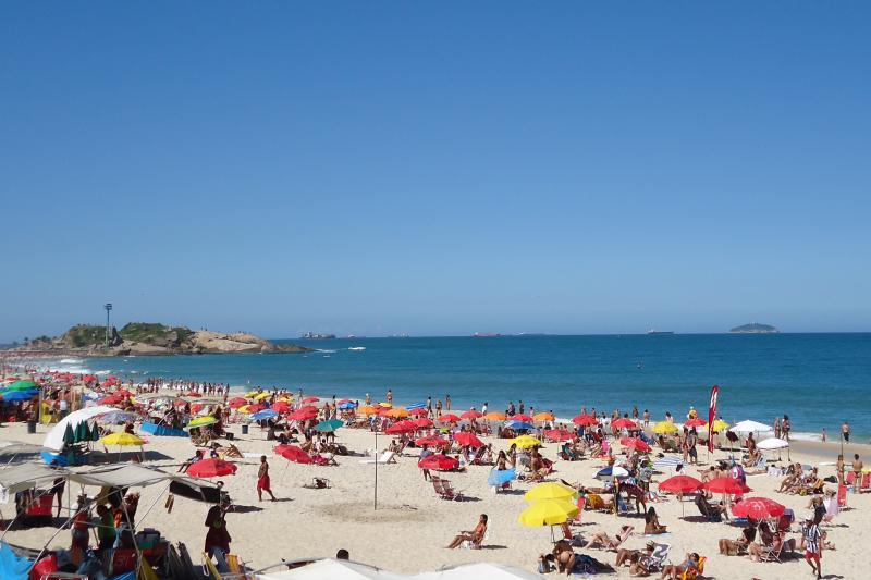 Outra visão da Praia de Ipanema.