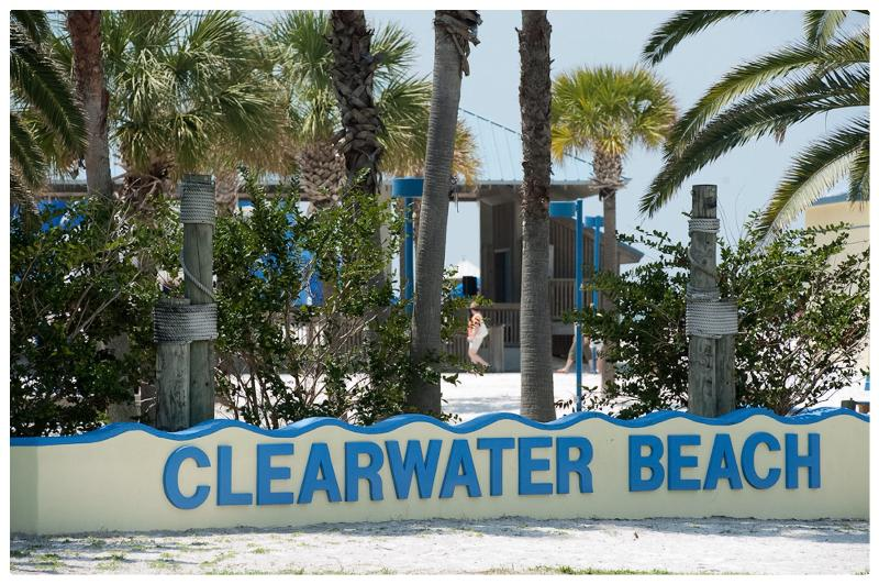 Clearwater beach / Plage à Clearwater