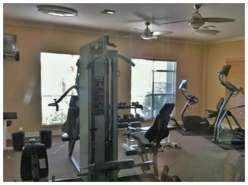 Fitness room / Salle d'exerciste