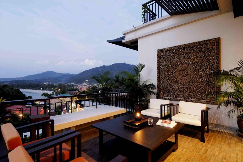 Spacious Outdoor Terrace With Beautiful Views Over Kata Beach