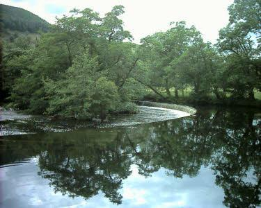 Horseshoe Falls on the River Dee (ten minutes' walk from Velvet Cottage)