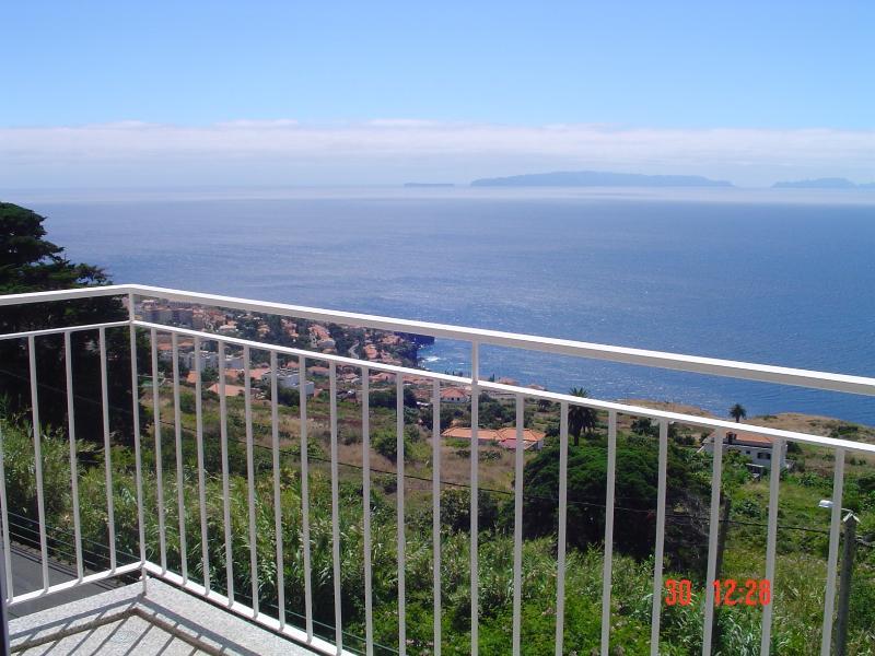 Varanda com vista para o mar incrível