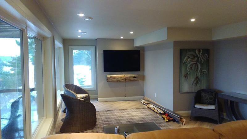 65 inch TV Living Room
