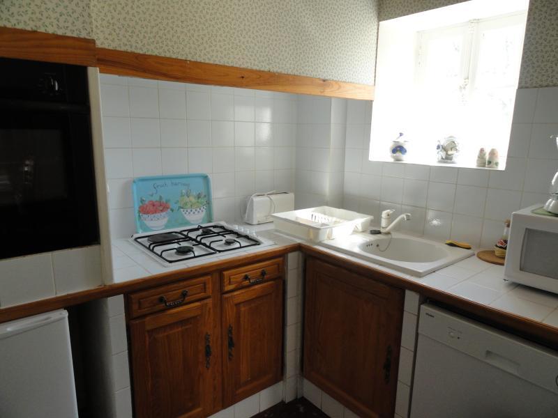 Four au Pain kitchen area