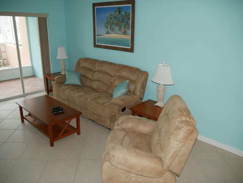 Living Room with all reclining furniture