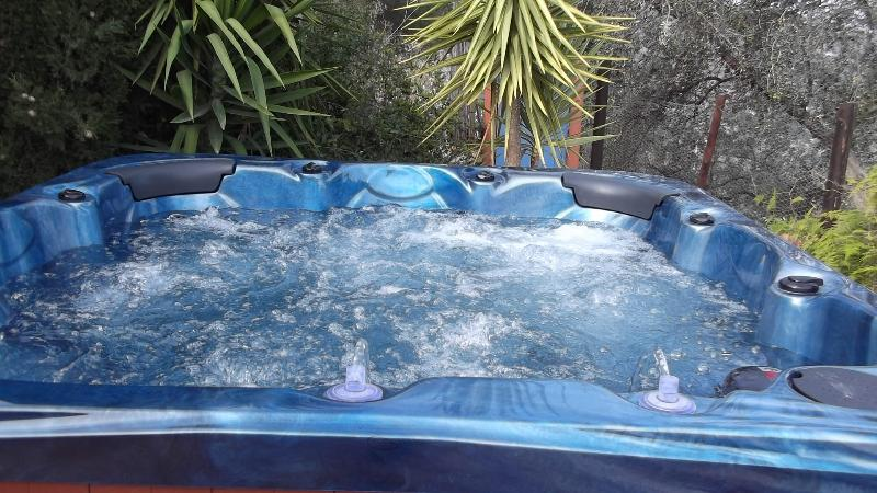 Hubble, bubble your troubles away in the luxury Jacuzzi Hot Tub. Private and unlimited use.