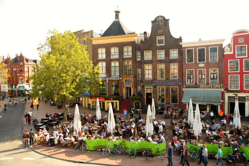 Enjoy the nearby city of Groningen