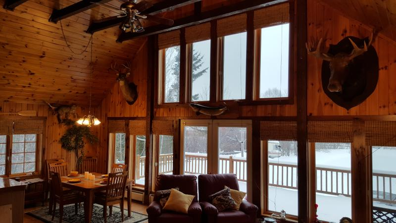 Rustic Chalet 3BR 2BA Now Booking, vacation rental in Jackman