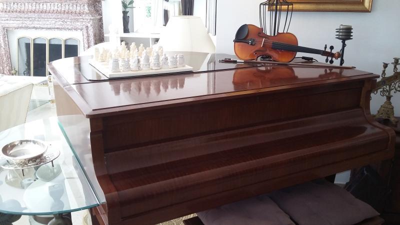 Gran Piano, Violon and chess game