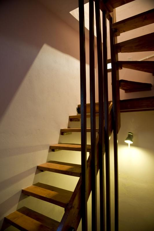The staircase