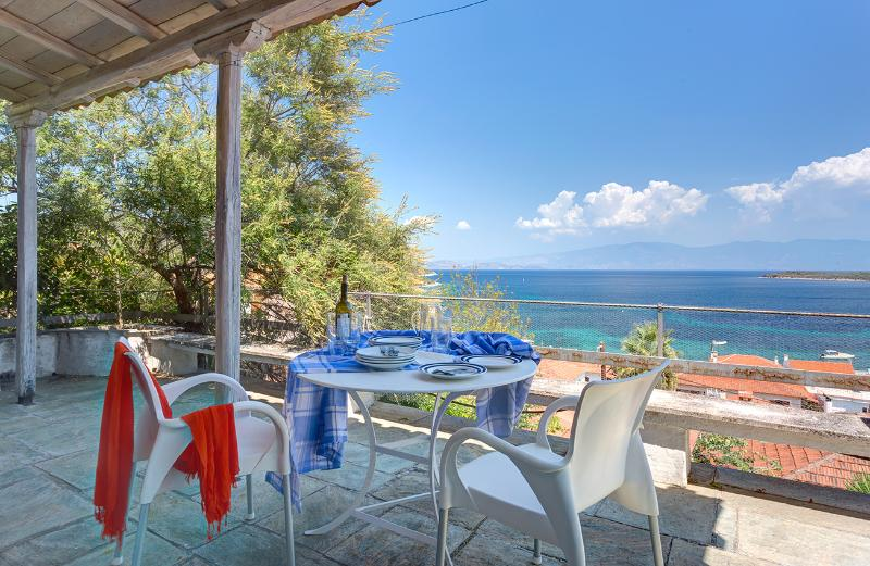 apartment with beautifull seaview / 100m to beach, holiday rental in Nea Anchialos