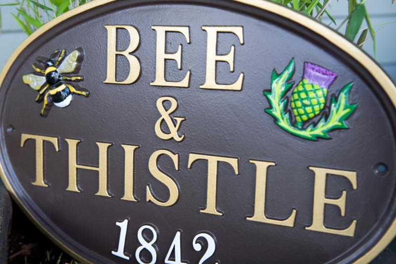 Welcome to the Bee & Thistle Guest House at 1842 Parker Street in Vancouver, BC, Canada!