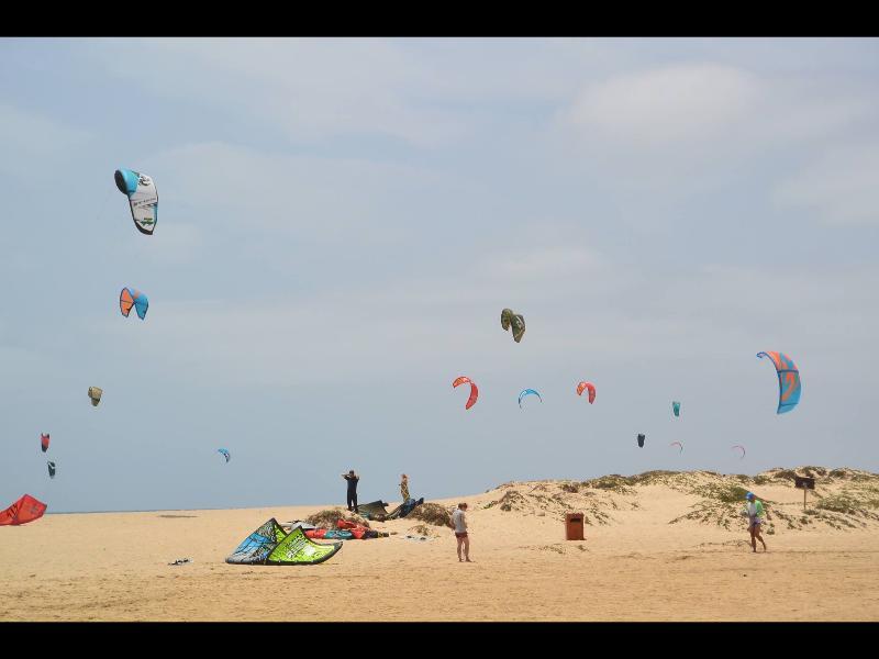 A great morning at Kite beach - a short walk away