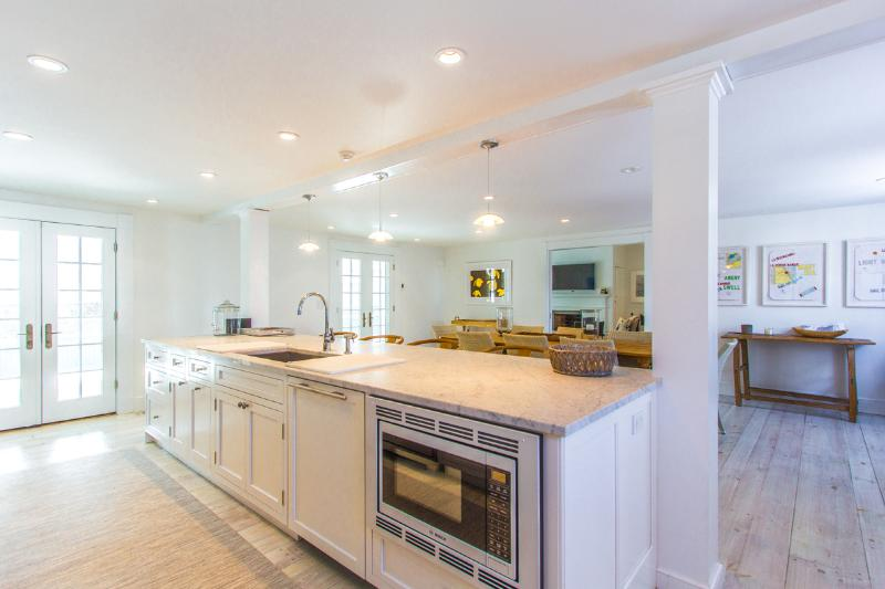 Chef's Kitchen with Breakfast Bar, Dining Area Adjacent