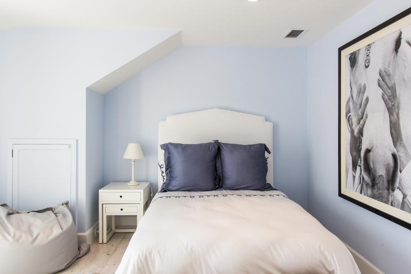 2nd Level Guest Bedroom, pocket doors between this and bedroom #5