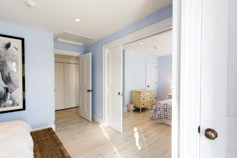 2nd Level Adjoining Bedroom Seperated by Pocket Doors Open to Roof Deck