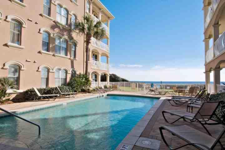 Enjoy Relaxing Poolside at Monterrey!  Beautiful Gulf Breezes and Views!  Take in the salt air and sunshine while relaxing your cares away!