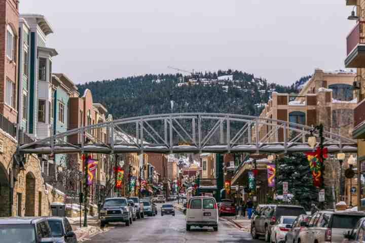 Historic Main Street in downtown Park City, Utah - just 10 minutes away!