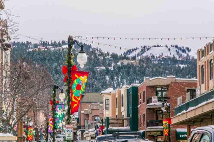 The winter season in Park City, Utah!