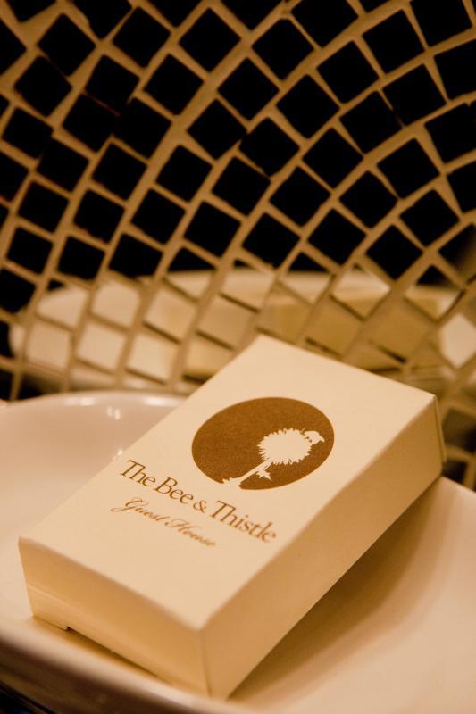 Bee & Thistle custom soap.