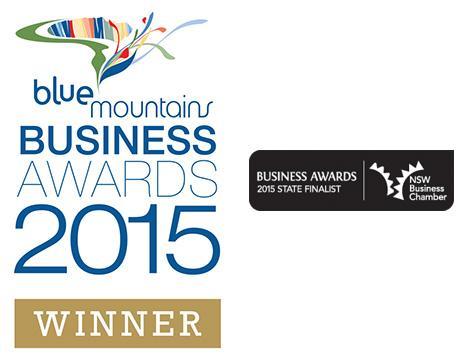 Blue Mountains Business Awards Winner & State Finalist 2015