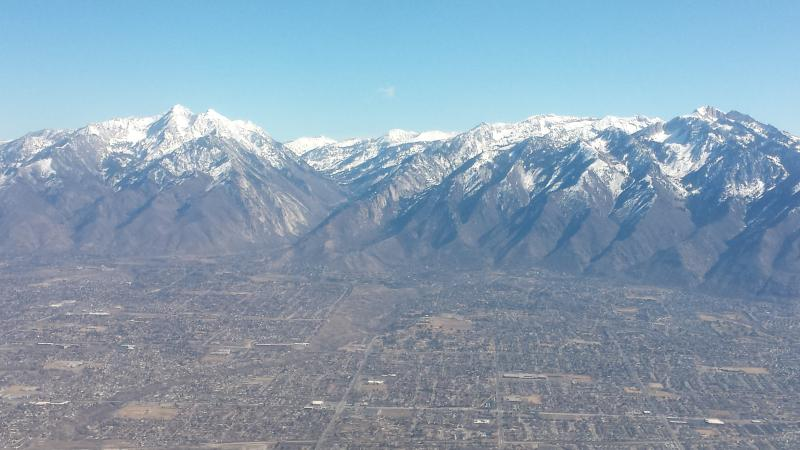 WELCOME to the Wasatch Mountains and the beautiful Salt Lake Valley