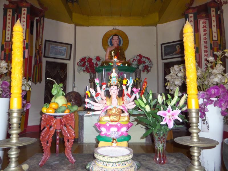 Buddhistischer tempel, Buddh. shrine Ta Cu Nui