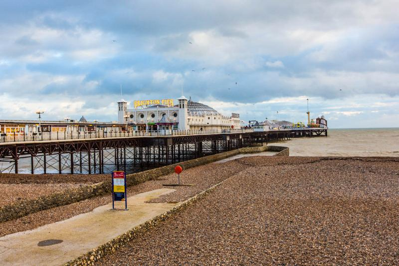 Célèbre jetée de Brighton !
