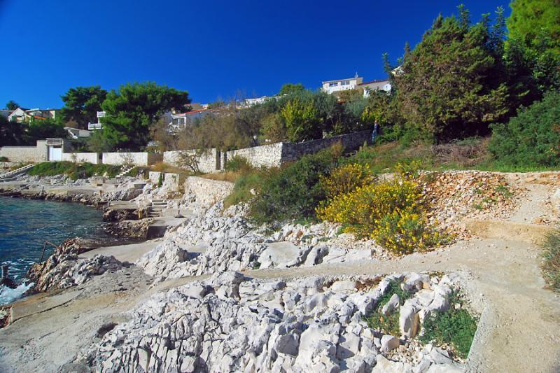 Appartement Okrug Gornji avec vue sur la mer, Trogir