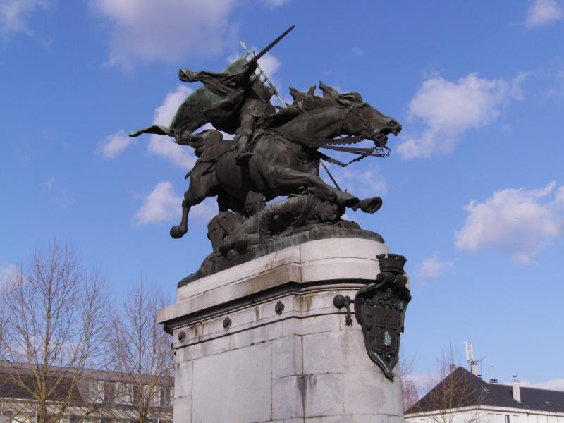 Statue Jeanne d'Arc