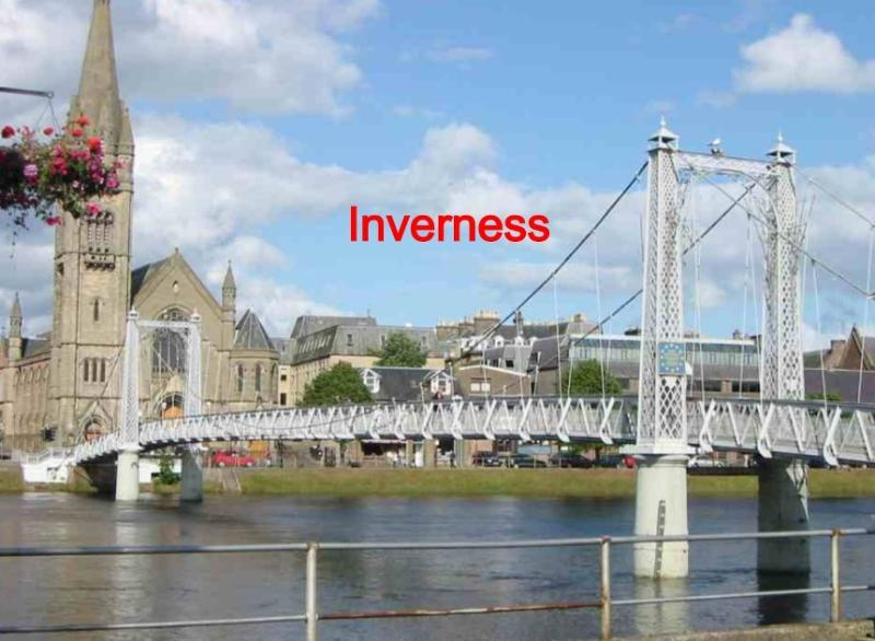 Inverness and River Ness' Highlands Capital City