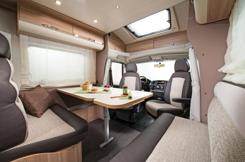 spacious lounge area for the whole family. Storage a plenty with large dining table. Total comfort