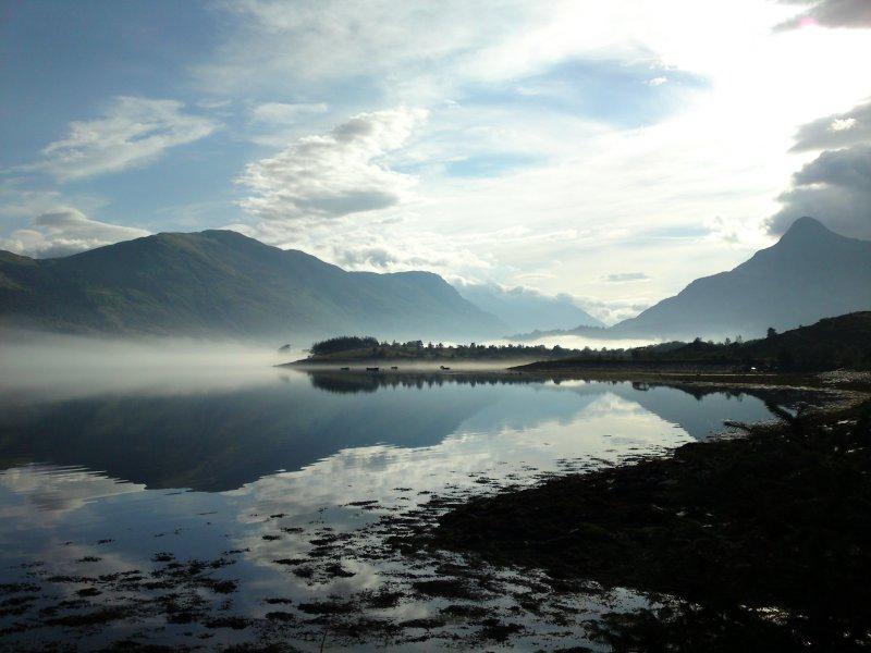 De shore - Loch Leven