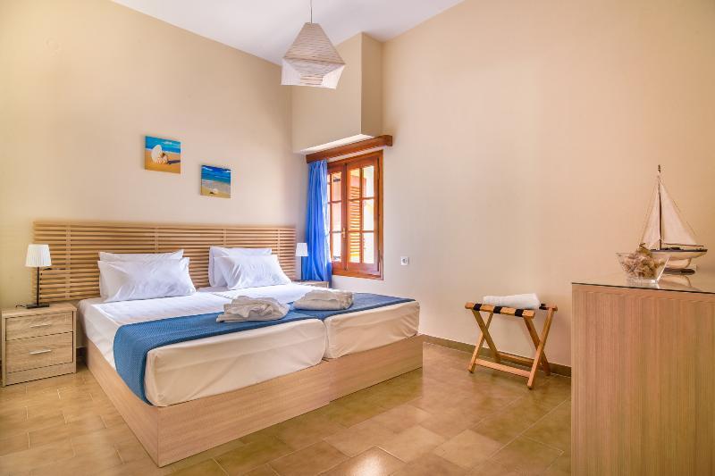 Avra Apartments, Ostria, bedroom