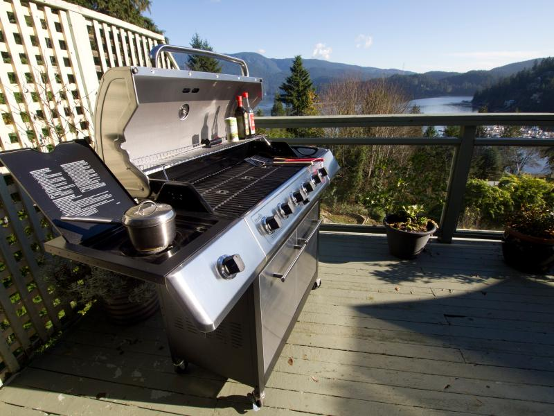 Our Six Burner Barbeque