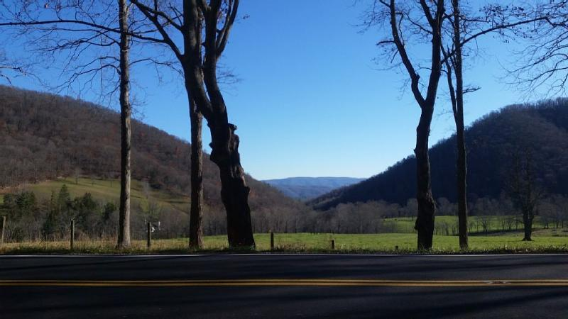 Dunn's Gap, one of the beautiful scenic views in the area