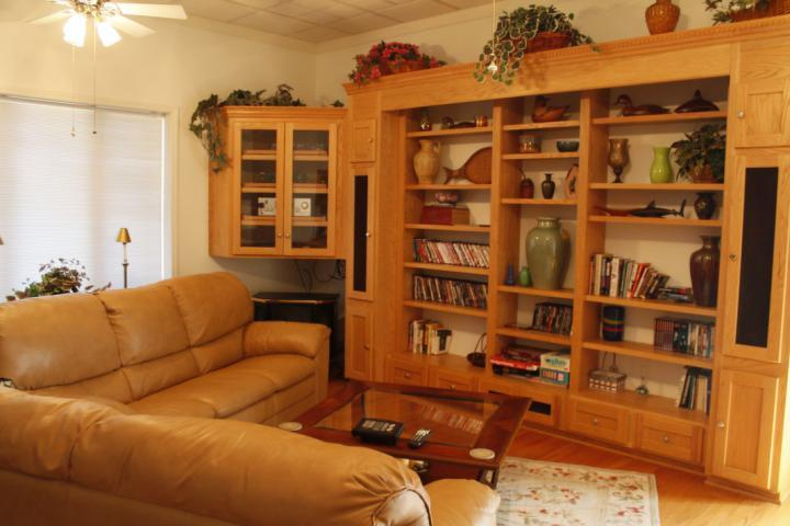 This lower level living area is perfect for in- laws or the kids!