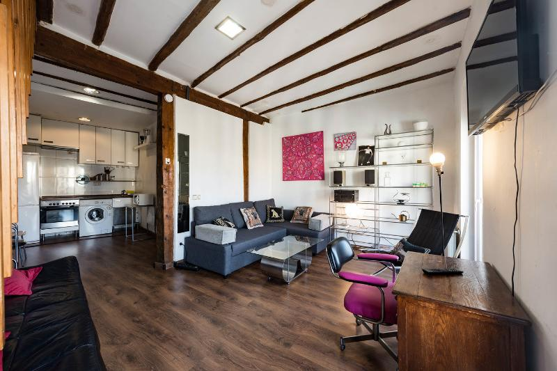Atico Duplex Loft Madrid - WIFI - Sol, vacation rental in Madrid