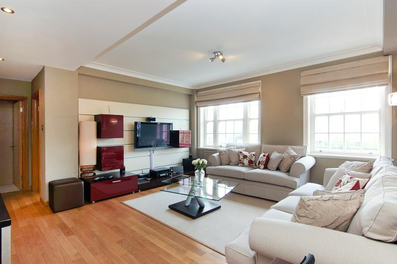 How you will first see the interior of the apartment as you walk in - a spacious Lounge.