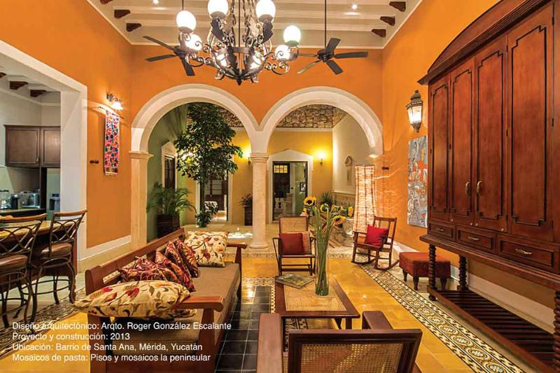 Main Living Room Photo from Ambientes' Magazine, Jan 2016 edition