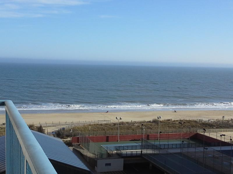 Ocean view from our condo private balcony