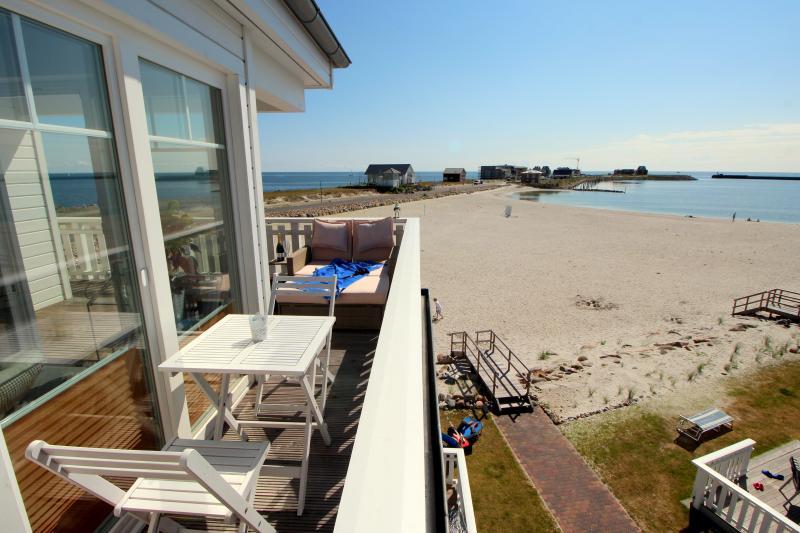 Strandhaus direkt am Ostseestrand