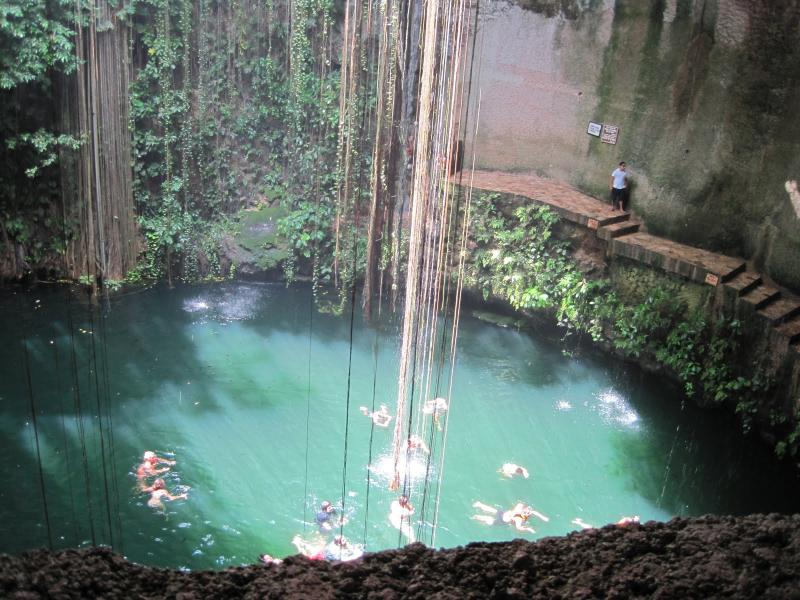Natural wonders - cenotes - minutes from the apartment
