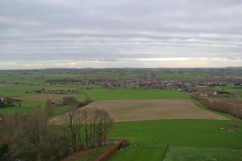 view from the gite